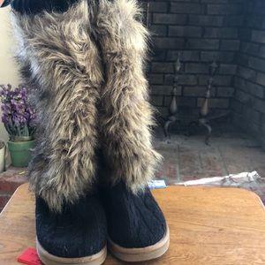 Victoria Secret Faux Fur Boots